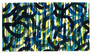 """Garden Gate, 11"""" x  6.5""""  © 2013"""